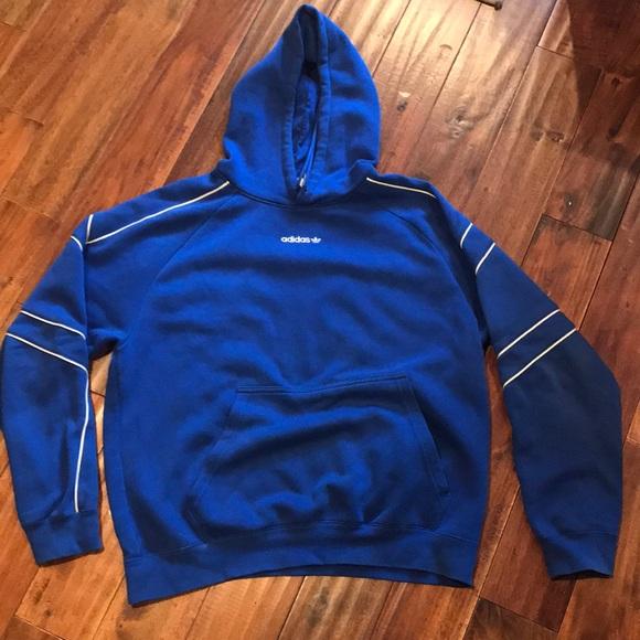 Adidas Eqt Outline Hoodie Blue Size L